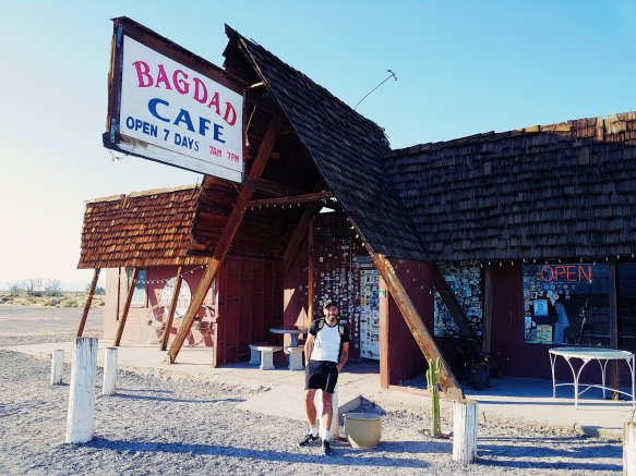 Bagdad Cafe - Road 66 - The Chris's Adventures