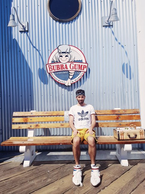 Bubba Gump restaurant - The Chris's Adventures