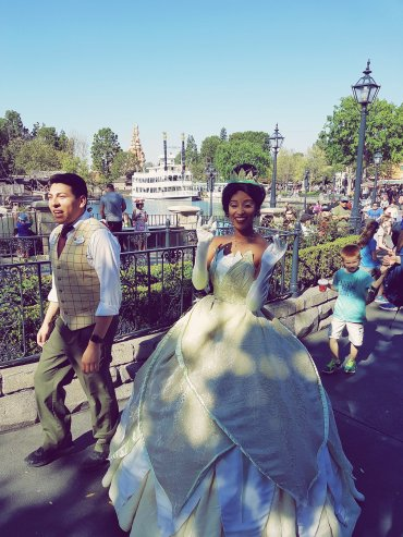 Tiana - Disneyland Anaheim - The Chris's Adventures -