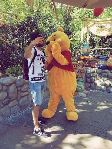 Winnie - Disneyland Anaheim - The Chris's Adventures -