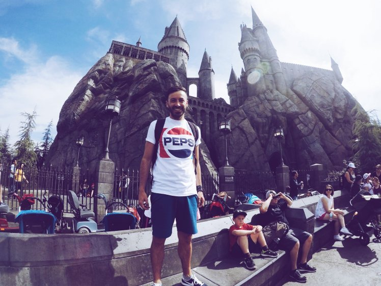 Hogwarts Castle - Universal Studio Hollywood - The Chris Adventures
