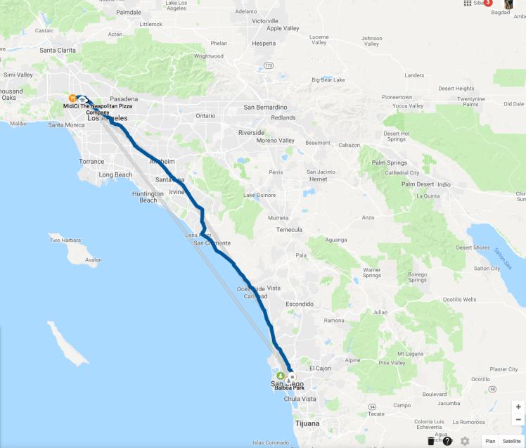 Road Trip: Los Angeles - San Diego - The Chris's Adventures