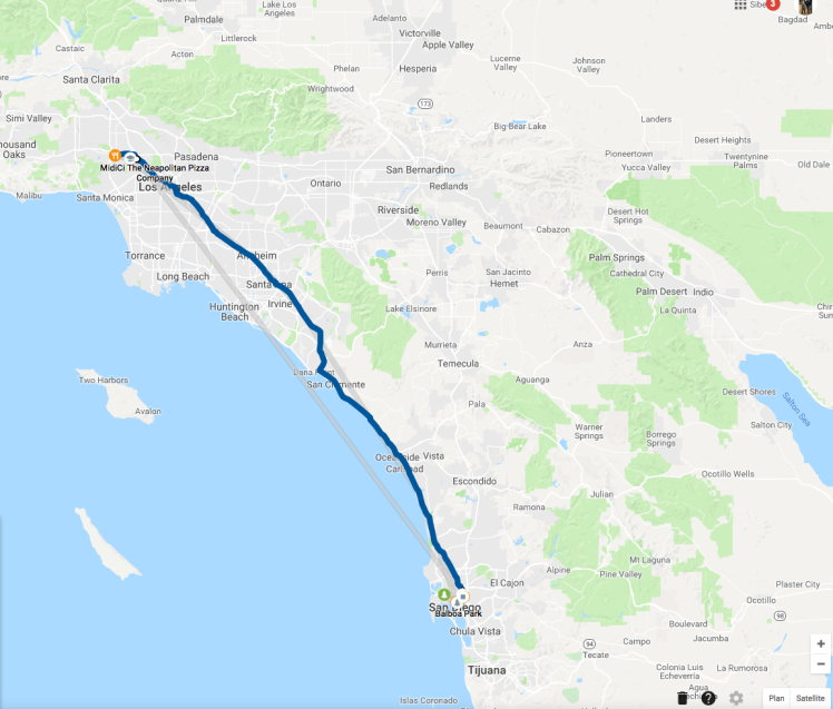 Road Trip: Los Angeles - San Diego - The Chris's Adventures