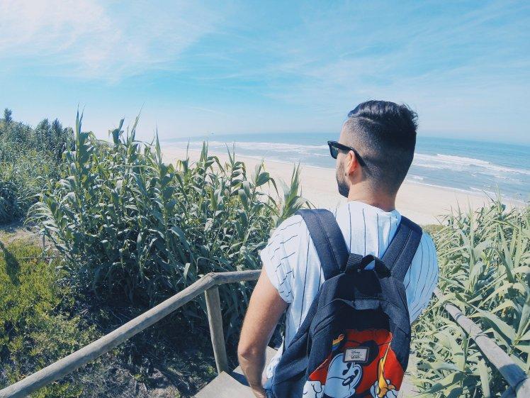 Nazare Beach - Portugal - The Chris's Adventures