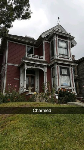 snapchat - Manoir des soeurs Hallywell - Charmed - The Chris's Adventures