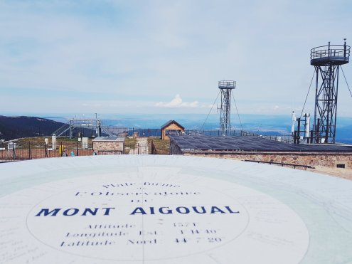 Platefor de l'observation du mont Aigoual - The Chris's Adventures
