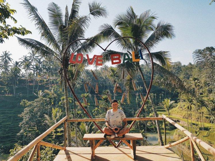 I love Bali - Rizière de Tegallalang - The Chris's Aventures