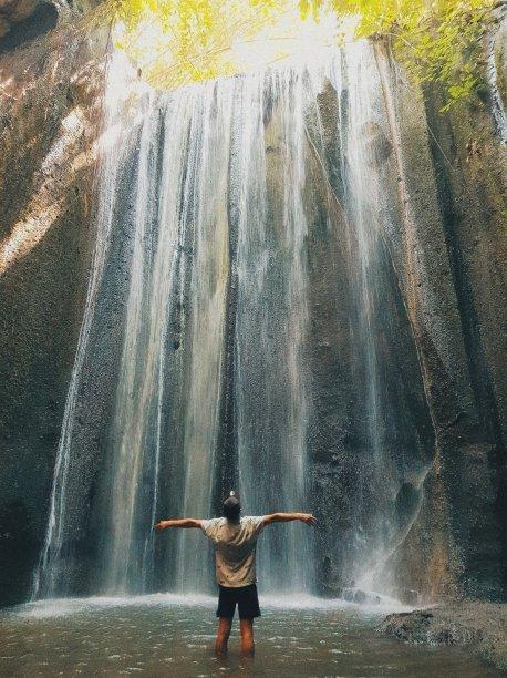 La cascade Tukad Cepung - The Chris's Adventures