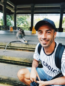 No Stress part2 - Sacred Monkey Forest Sanctuary - The Chris's Adventures