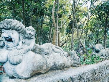 L'exotisme des statues - The Sacred Monkey Forest Sanctuary - The Chris's Adventures-