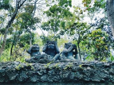 Les singes de la sagesse - The Sacred Monkey Forest Sanctuary - The Chris's Adventures