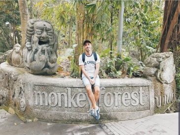 The Sacred Monkey Forest Sanctuary - The Chris's Adventures