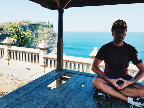 Moment de relaxation au Temple - The Chris's Adventures