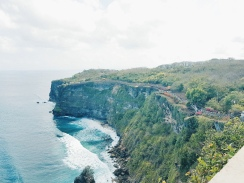 Vue du Temple Uluwatu - The Chris's Adventures