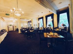 Salle du petit déjeuner - Hotel Columbia - Londres - The Chris's Adventures