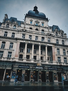 Dans les rues de Londres 2 - The Majesty's Theatre - The Chris's Adventures