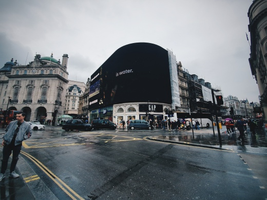 Piccadilly Circus - The Chris's Adventures