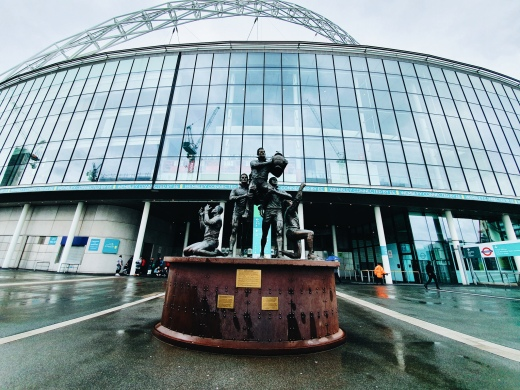 Le stade de Wembley - The Chris's Adventures