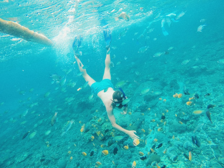 Snorkeling Crystal Bay - Nusa Penida - The Chris's Adventures