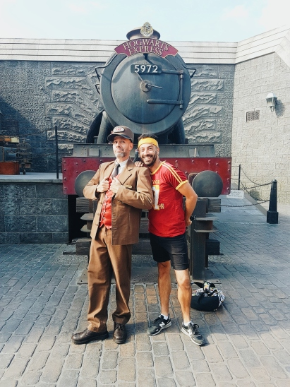 Terminus du Poudlard Express- Universal Studio - The Chris's Adventures