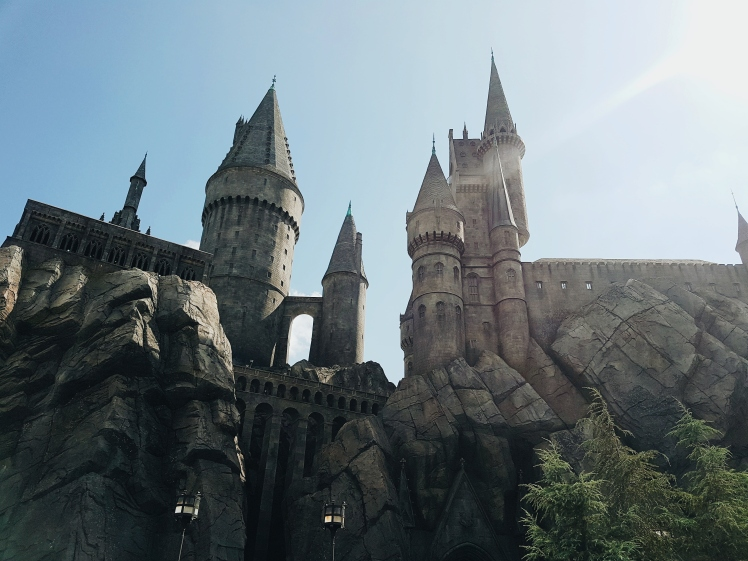 Chateau de Poudlard - Universal Studio - The Chris's Adventures