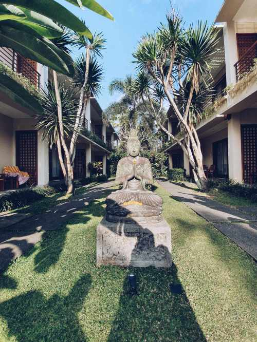 Un peu de zen - hôtel Pertiwi Bisma 1 - Ubud - The Chris's Adventures